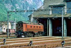 Schweizerische Bundesbahnen (SBB) / Chemins de Fer Fédéraux suisses (CFF) / Ferrovie Federali Svizzere (FFS), Be 4/6 12320 (1921), Erstfeld (UR)