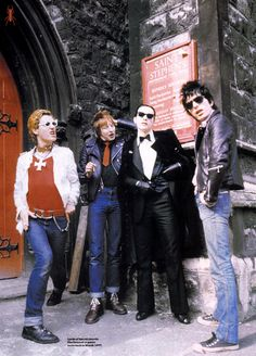 The Damned (1977). We saw the band recently, still amazing - they rocked it hard even in the blazing Texas heat!