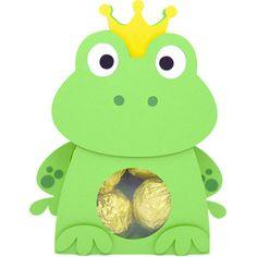 Silhouette Design Store: cute frog box