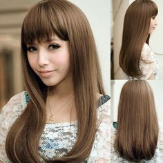 Hairstyles For Girls With Long Hair With Bangs