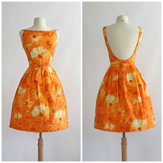 Vintage 1960s Jacques Heim Dress Vintage 60s by xtabayvintage