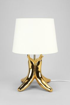 """{Banana Table Lamp} This is just a fun, whimsical piece. Plus, I dare you to say """"Banana Lamp"""" without laughing!"""