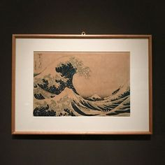 Londa di Hokusai. Una tra le prime litografie.  #architectaroundtheworld #ondahokusai #onda #hokusai #giapponismo #giappone #artjapan #arte #art #mostra #palazzoroverella #rovigo #artinspiration #inspiration #cervellinoninfuga  @cnif.it Japanese Culture, Art Nouveau, Waves, Palazzo, Artwork, Studio, Decor, Wave, Art