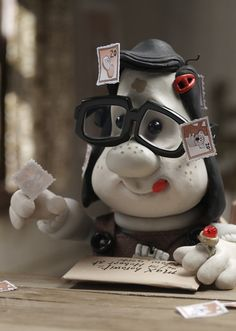 Mary and Max. I need to make more of an effort to get this movie on dvd.
