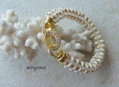 """Bracelet """"LISA"""" d'après le schéma de Puca"""