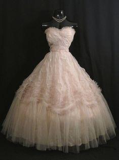 Prom Party Dresses, Wedding Dresses, 1950 Wedding Dress, 1950s Prom Dress, 1950s Dresses, Hoco Dresses, Gown Wedding, Dress Party, Party Wedding