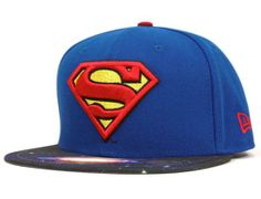 Superman Galaxy 59Fifty Fitted Baseball Cap by DC COMICS x NEW ERA