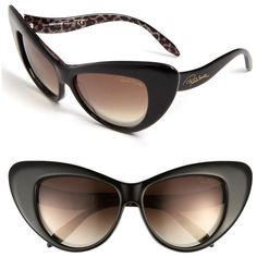 Roberto Cavalli 58mm Retro Sunglasses