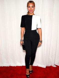 Beyoncé en un jumper de Osman en los Grammys