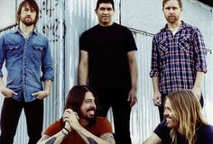 Foo Fighters - my favorite band of all time. Saw them twice. They were awesome. Loved seeing Dave play his blue guitar!