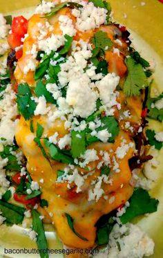 Chicken Laredo...inspired by Saltgrass Steakhouse's Chicken Laredo!