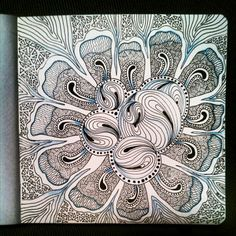 My Zendoodle 365-project, day62 by Nadik on deviantART