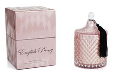 English Peony 14 oz Diamond Jar Candle on OneKingsLane.com