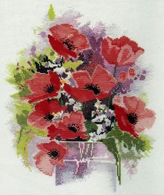 Poppies by Rose Swalwell: Watercolour Collection, Derwentwater Designs