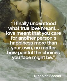 Nicholas Sparks quote on True Love - Love of Life Quotes What's True Love, True Love Quotes, Cute Quotes, Great Quotes, Funny Quotes, Inspirational Quotes, Unconditional Love Quotes, True Sayings, Quotable Quotes
