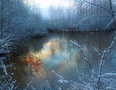 Beautiful reflection of light