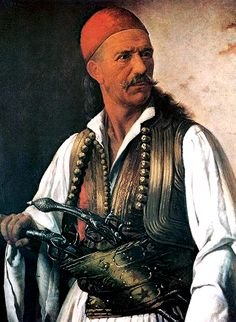 """TIL the term """"Kleptomania"""" comes from the """"Klepths"""" Greek bandits who retreated to the mountains and fought Ottoman rule for four centuries. Albanian Wedding, Greek Independence, Albanian Culture, Places In Greece, Greek Warrior, Greek History, Sketch Painting, Byzantine, Military History"""