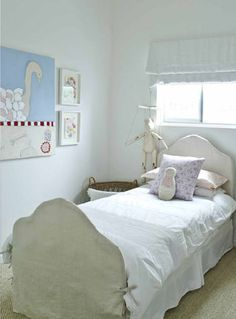 slipcovered headboard/footboard