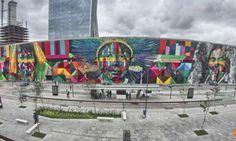 Sucesso durante Olimpíada, mural de Kobra no Rio entra para o Guinness