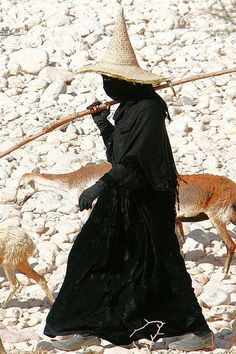 A Moslem shepherdess, I think.