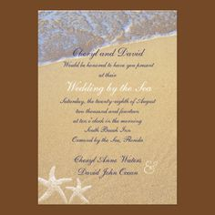 Shore Love Beach Themed Wedding RSVP Cards