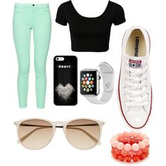 A fashion look from March 2015 featuring French Connection jeans, Converse sneakers and Samsung watches. Browse and shop related looks.
