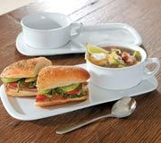 """Enter our giveaway, and you'll automatically be eligible to win a CHEFS Soup and Sandwich Set. <strong><span style=""""color: #b32025"""">You can enter up to two (2) times per e-mail address per day.</span></strong> Deadline 12.26.15."""