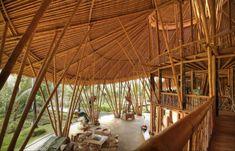Ibuku's Stunning Six-Story Bamboo Luxury Homes