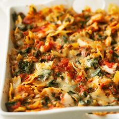 Cannelini beans make a hearty addition this this tasty casserole. See more healthy casseroles: http://www.bhg.com/recipes/quick-easy/make-ahead-meals/healthy-casserole-recipes/?socsrc=bhgpin030113tuscancasserole=10