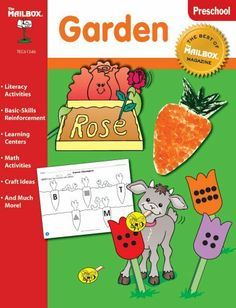 The Best of THE MAILBOX Theme Series: Garden (PreK) by The Mailbox Books Staff, http://www.amazon.com