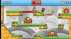 Mario vs. Donkey Kong Tipping Stars: So lustig ist das neue Mario-Game! https://www.youtube.com/watch?v=iR3A_3GVcXc http://www.bild.de/spiele/spiele-test/puzzlespiele/mario-vs-donkey-kong-tipping-stars-3ds-wiiu-test-40331944.bild.html The last time I played games/Mario Bros was yrs ago, as I was still at highschool lol...and it started only because my bro needed a volunteer to play together with him+his new Nintendo lol...so, oldie lol...