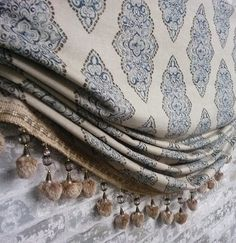 Love the roman shade look but dont need it to function? Our faux roman shade valance may be just what you are looking for. DrawnCompany on Etsy