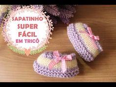 Beginner Crochet - Blusa a crochet - ganchillo - tejida para dama - facil y rapido - parte Crochet Bobble, Crochet Doily Rug, Crochet Dollies, All Free Crochet, Crochet Baby, Crochet Patterns, Booties Crochet, Baby Booties Knitting Pattern, Knit Baby Shoes