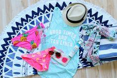 The Trendy Sparrow: My Favorite Beach Essentials