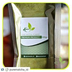 #Repost @purematcha_id with @repostapp  Pure Matcha Greentea Powder alias Bubuk Greentea / Teh Hijau Murni.  Our Packaging is Great for you :) Selalu Ready Stock ya :) Ini adalah PACKAGING kita yang 50gr Premium alumunium  100% asli! Belum ada tambahan gula atau apapun ! Tanpa pengawet & pewarna makanan Dijamin ASLI dan Natural ! Cocok untuk Cafe Restaurant Bakery Cakery Kedai.  Bisa digunakan untuk campuran membuat kue pudding ice cream pancake roti coklat selai dan berbagai variasi…