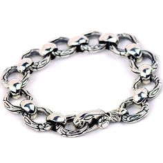 Linked Sterling Silver Cool Luxury Bracelet!