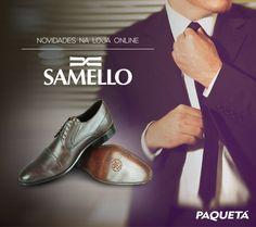 --> A marca premium de calçados masculinos #Samello acabou de chegar em nossa loja online! #Fashion #Shoes