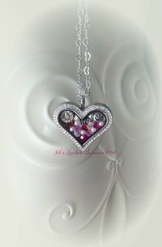 Love. Origami Owl heart locket and heart chain. Order yours:  www.PavliesCharms.OrigamiOwl.com
