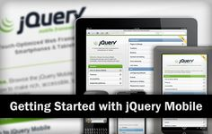 jQuery Mobile framework is used to create a mobile web page for smartphone. The article shown 10 steps to getting started with jQuery Mobile.