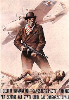 1944 I Delitti Inumani Dei Gangster Piloti Radioano Per Sempre Gli Stati Uniti Dal Consorzio Civile