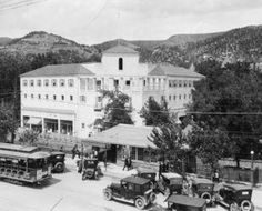 Manitou Baths early 1900s