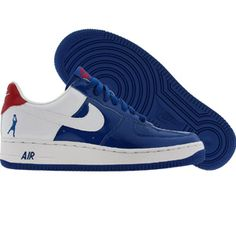 Nike Air Force 1 Sheed Low (blue jay / white / varsity red) 313340-411 - $109.99