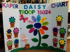 Girl Scout Daisy kaper chart for My Niece =]