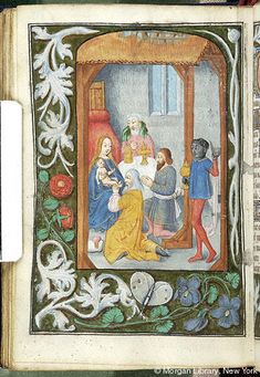 Book of Hours, MS M.234 fol. 83v - Images from Medieval and Renaissance Manuscripts - The Morgan Library & Museum