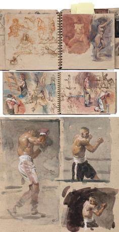 Steve Huston Sketchbooks.