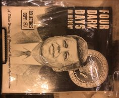 """Four Dark Days In History """"Rare HTF"""" Collectors Edition Kennedy Assassination 68…"""