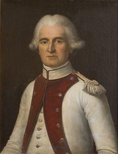 Delanoë, Frédéric - Jean-Mathieu-Philibert Sérurier, lieutenant-colonel au 68e de ligne en 1792 (1742-1819)  / Château de Versailles; Corps central, Grands Appartements salle de 1792