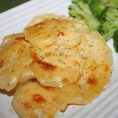 Creamy Au Gratin Potatoes | Kathy's Cookbook More