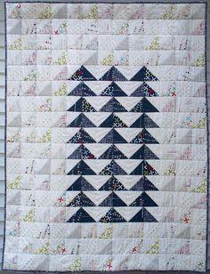 Rebel Flock Quilt Pattern by Debbie Grifka | Esch House Quilts