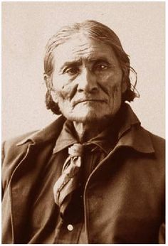 Those sad, sad old eyes... Geronimo -Wounded Knee Massacre-